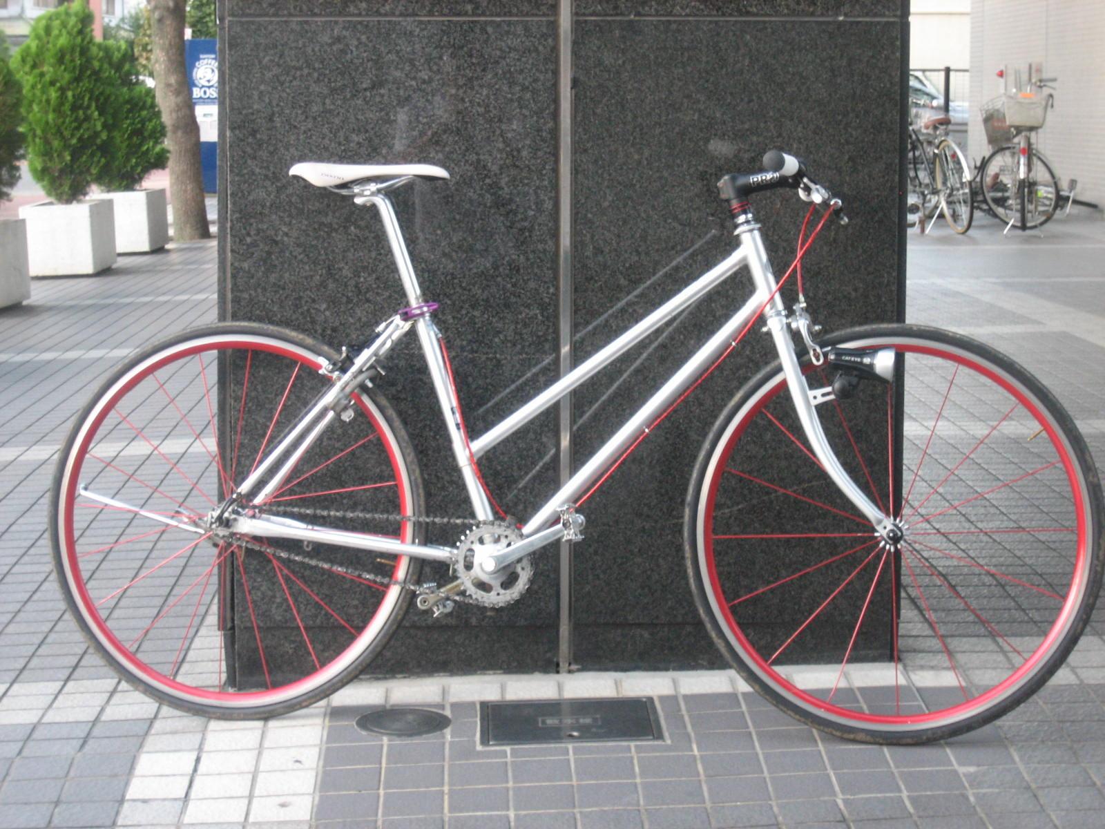 自転車の 自転車 アルミフレーム ママチャリ : チューンドママチャリ: GoingMyWay ...